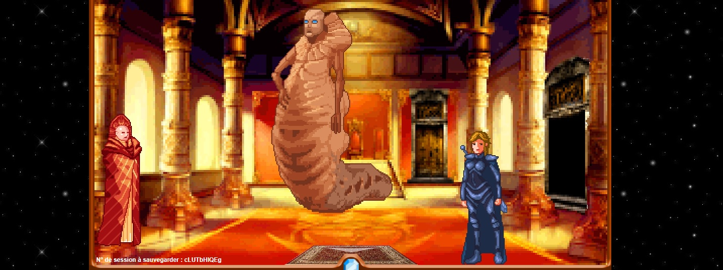 Dune jeu point and click : paul atreides